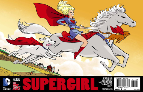 Supergirl #37 (Darwyn Cooke Cover)