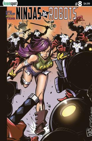 Ninjas & Robots #8 (Elliot Fernandez Cover)