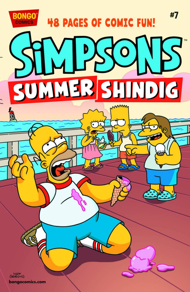 The Simpsons Summer Shindig #7
