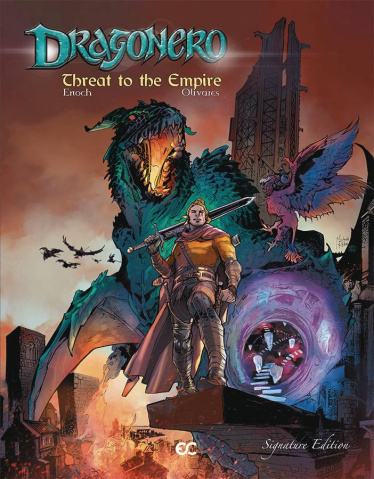 Dragonero: Threat to the Empire