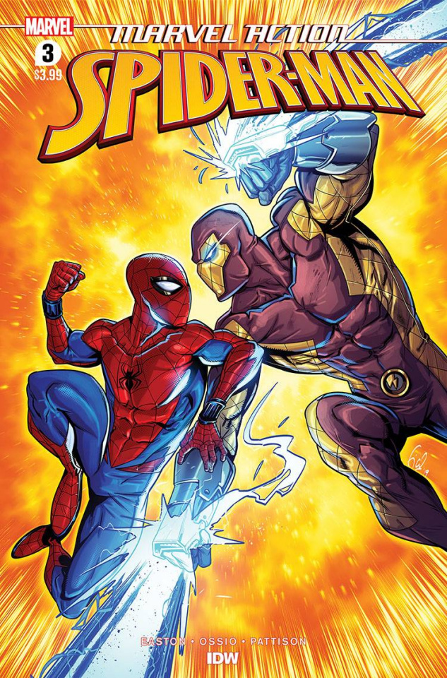 Marvel Action: Spider-Man #3 (Ossio Cover)
