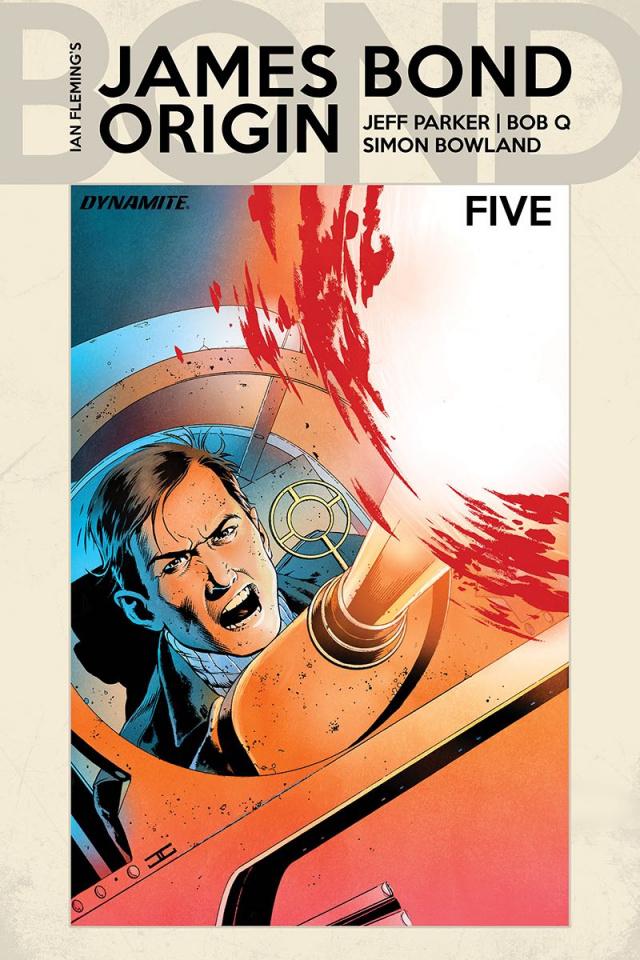 James Bond: Origin #5 (Cassaday Cover)