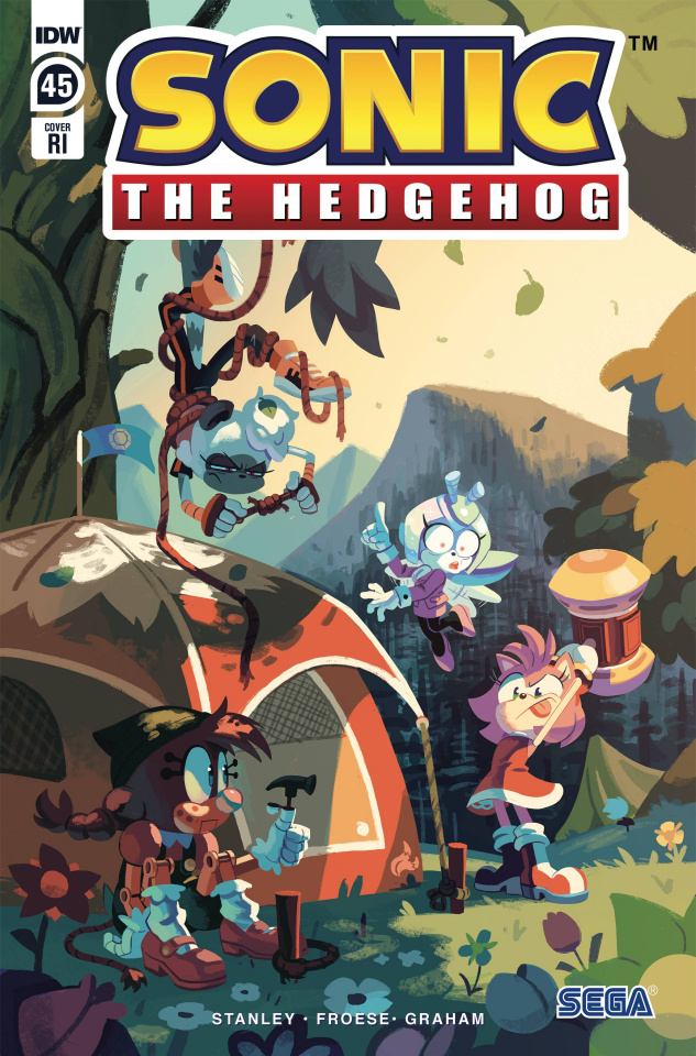 Sonic the Hedgehog #45 (10 Copy Fourdraine Cover)