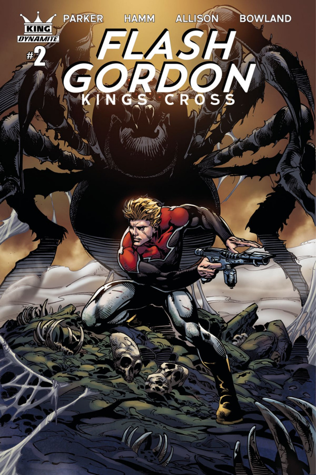 Flash Gordon: Kings Cross #2 (Subscription Cover)