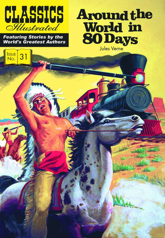 Classics Illustrated Vol. 31: Around the World in 80 Days