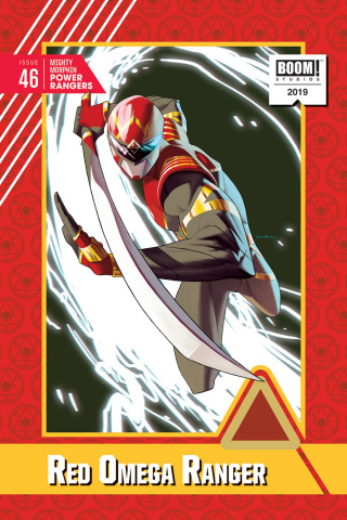 Mighty Morphin' Power Rangers #46 (20 Copy Anka Cover)