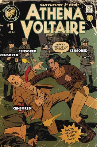 Athena Voltaire #1 (Bryant Retro Cover)