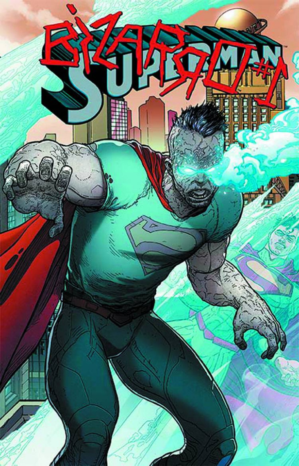 Superman #23.1: Bizarro Standard Cover