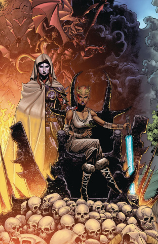 Niobe: She Is Death #3 (Mitchell Cover)