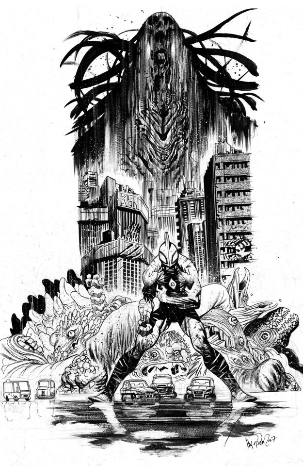 Ultramega #1 (5 Copy 3rd Printing)