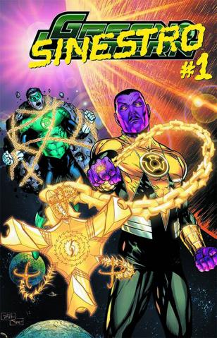 Green Lantern #23.4: Sinestro Standard Edition