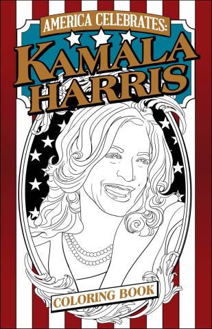 Kamala Harris Coloring Book