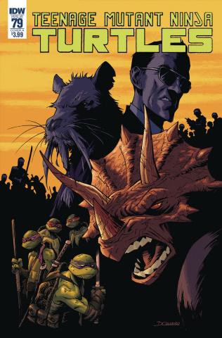 Teenage Mutant Ninja Turtles #79 (Couceiro Cover)