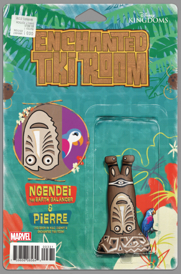 Enchanted Tiki Room #3 (Christopher Action Figure Cover)