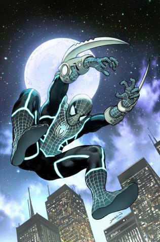 Doctor Strange #16 (Yardin Spider-Man Stealth Suit Cover)