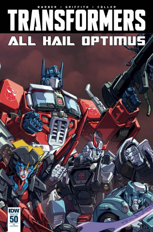 The Transformers #50 (Subscription Cover)