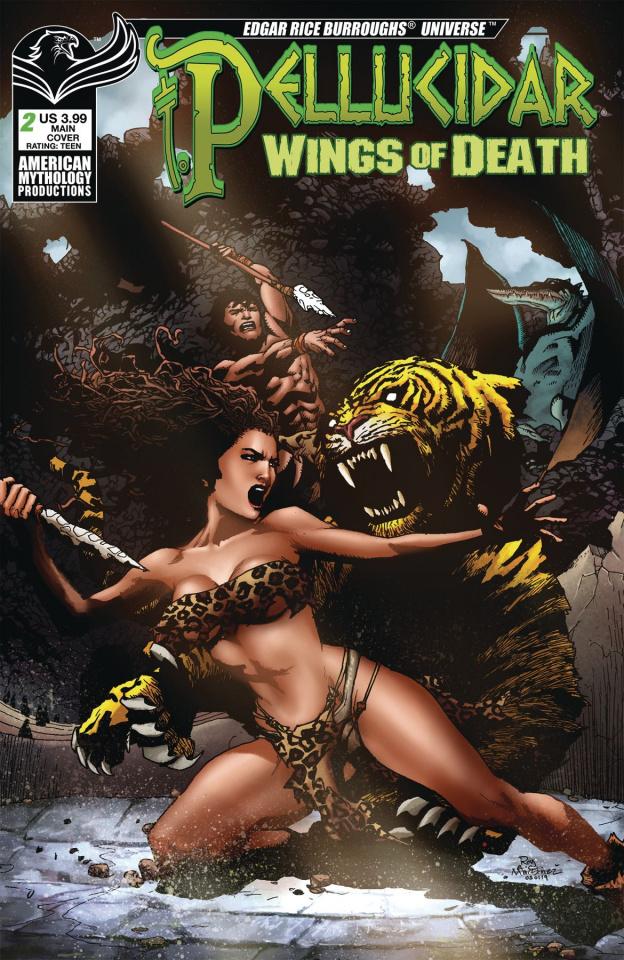 Pellucidar: Wings of Death #2 (Martinez Cover)