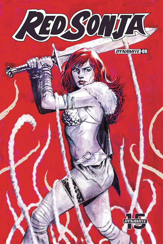 Red Sonja #9 (Walsh Cover)