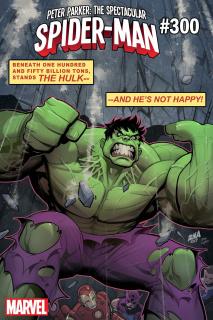 Peter Parker: The Spectacular Spider-Man #300 (Nakayama Hulk Cover)