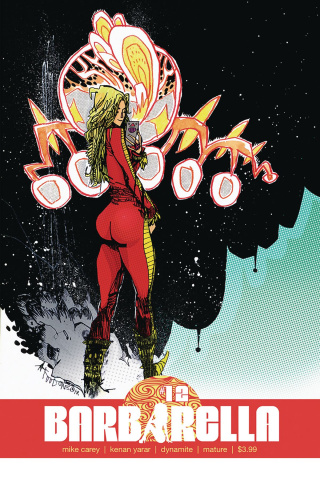 Barbarella #12 (Mahfood Cover)