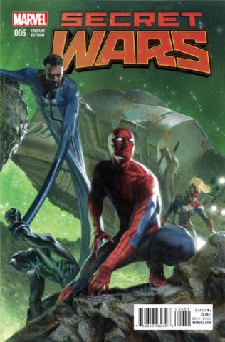 Secret Wars #6 (Dell'otto Cover)