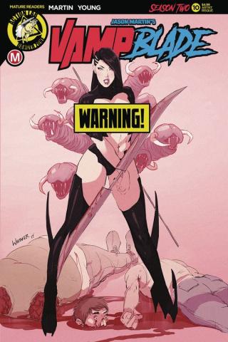 Vampblade, Season Two #10 (Whitaker Risque Cover)