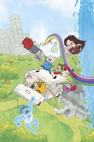 Adventure Time: Regular Show #1