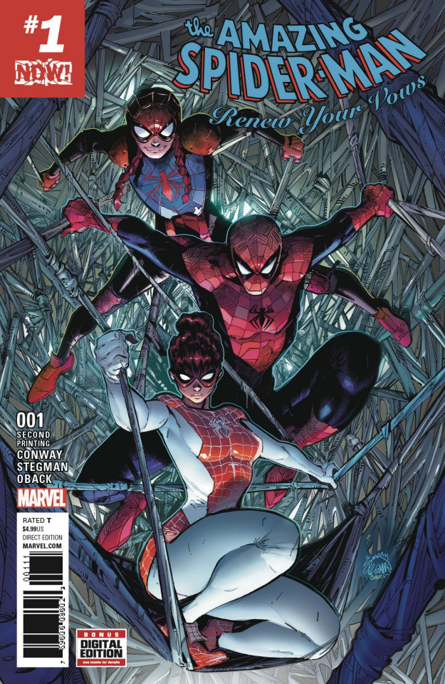 The Amazing Spider-Man: Renew Your Vows #1 (2nd Printing Stegman Cover)