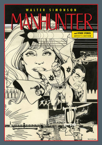 Walter Simonson: Manhunter Artist Edition