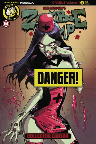 Zombie Tramp: Origins #3 (Sexy Risque Cover)