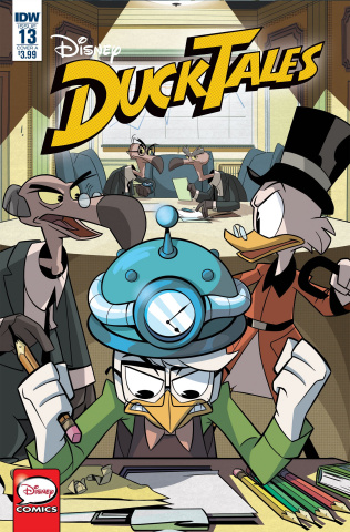 DuckTales #13 (Fontana Cover)