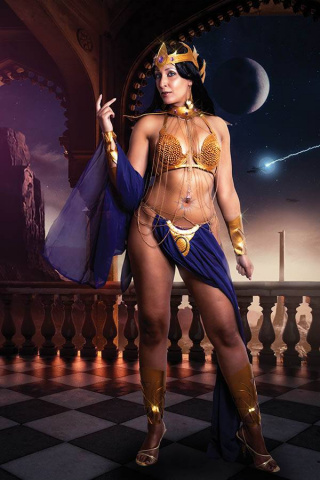 Dejah Thoris #6 (30 Copy Tasha UK Cosplay Virgin Cover)