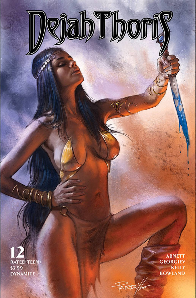 Dejah Thoris #12 (Parrillo Cover)