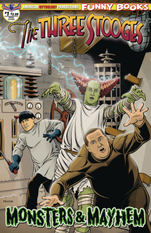 The Three Stooges: Monsters & Mayhem #1 (Fraims Cover)