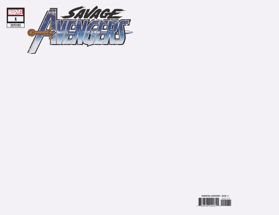 Savage Avengers #1 (Blank Cover)