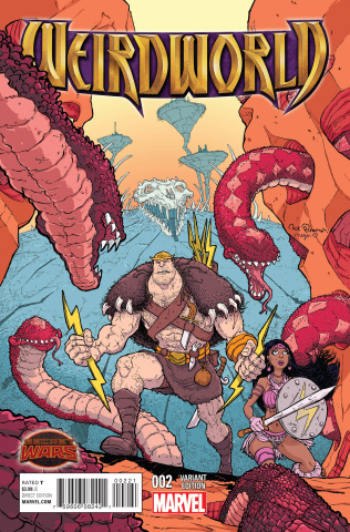 Weirdworld #2 (Pitara Cover)