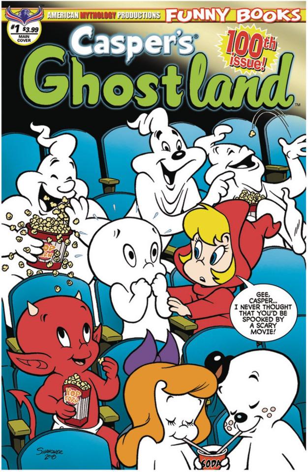 Casper's Ghostland #100 (100th Issue Anniversary)