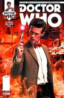 Doctor Who: New Adventures with the Eleventh Doctor #11 (Subscription Photo Cover)