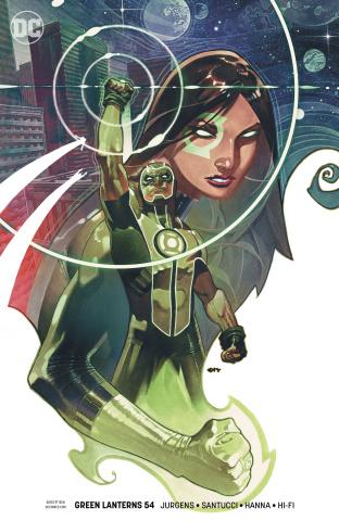 Green Lanterns #54 (Variant Cover)