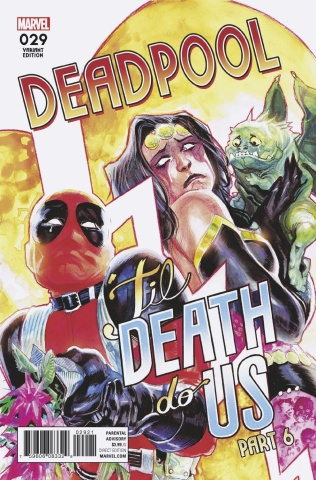 Deadpool #29 (Albequerque Poster Cover)
