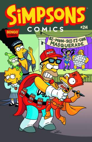 Simpsons Comics #214