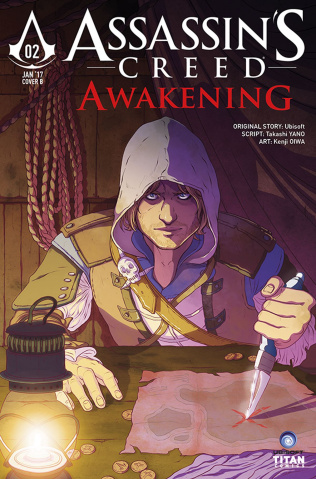 Assassin's Creed: Awakening #2 (Brown Cover)