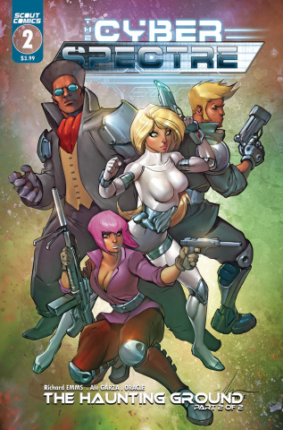 The Cyber Spectre #2 (Garza Cover)