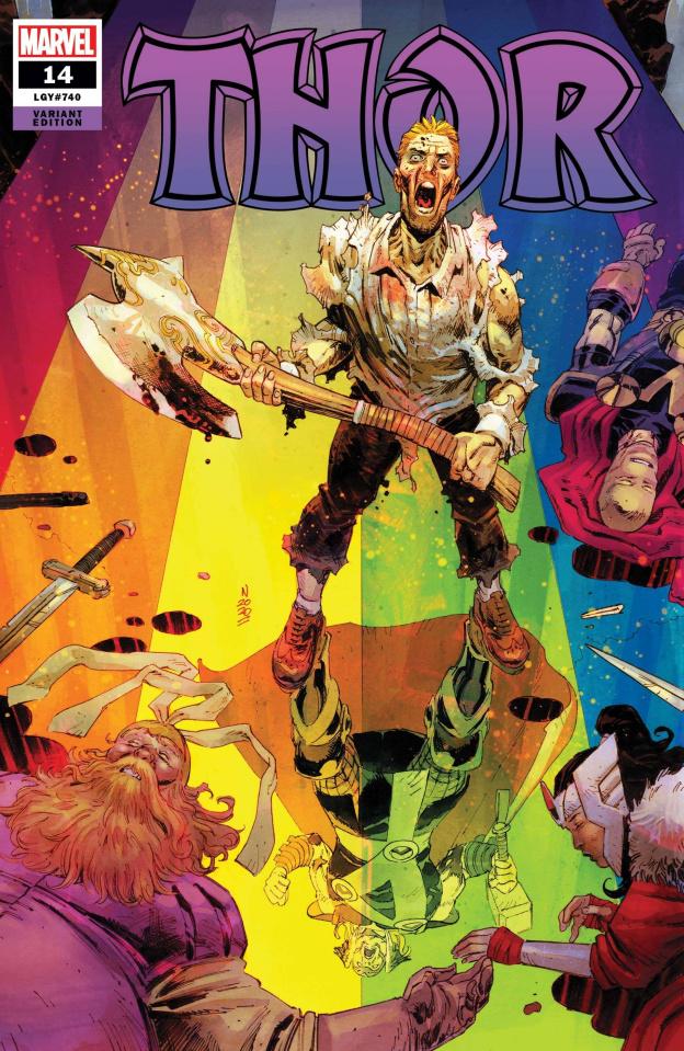 Thor #14 (Klein Cover)