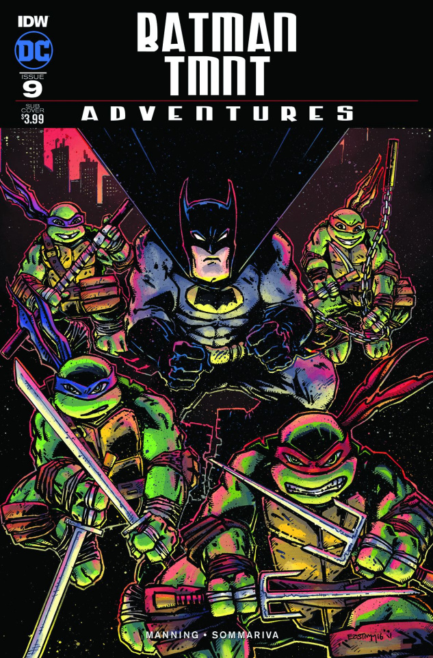 Batman / TMNT Adventures #1 (Subscription Cover B)