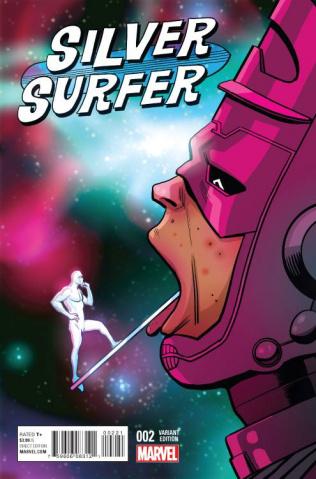 Silver Surfer #2 (Zdarsky Cover)
