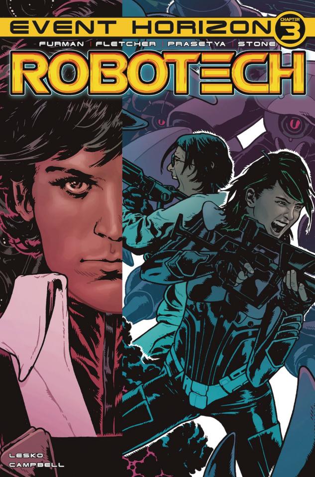 Robotech #23 (Spokes Cover)