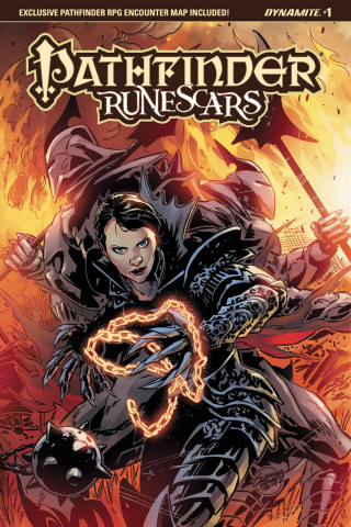 Pathfinder: Runescars #1 (Borges Cover)