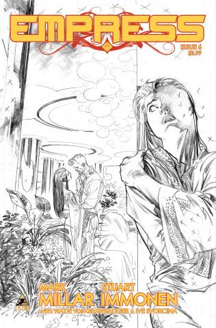 Empress #6 (Immonen Sketch Cover)