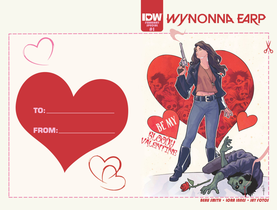 Wynonna Earp #1 (Valentine's Day Card Cover)